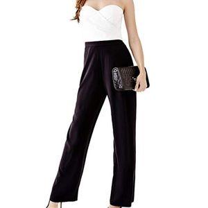 Guess Women's Colorblock Strapless Jumpsuit